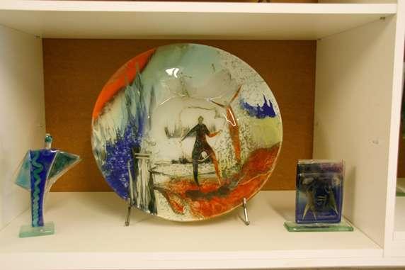 flot glaskunst i St. Galla